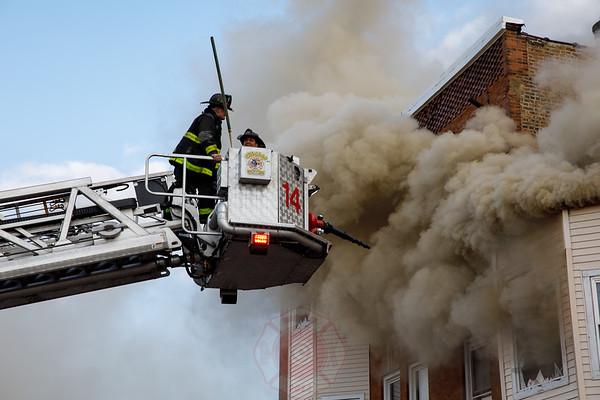 Still & Box Alarm Fire w/ 2 xtra Trucks 5305 Lake Street March 2019
