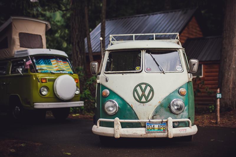 Belknap Hot Springs Resort VW Camping Trip