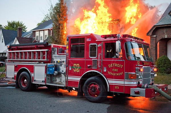 Detroit, MI - Box Alarm - 4820 Haverhill St. - September 27, 2012