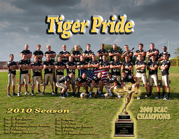 DePauw Football Poster Proofs