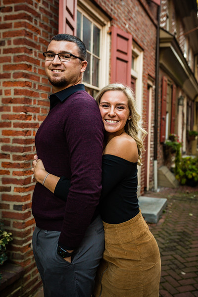 MICHELLE AND NICK - OLD CITY ENGAGEMENT SESSION - 36.jpg
