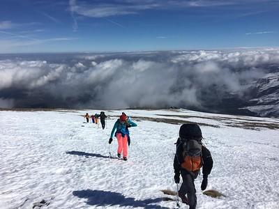 Ice Climbing & Skills in the Barranco del Alhorí February 2020