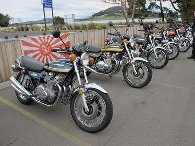 Shannons bikes beside the bay
