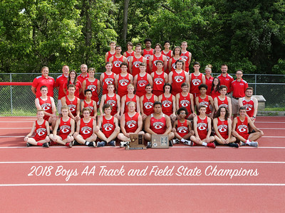 2018 Track & Field State Championship Photos