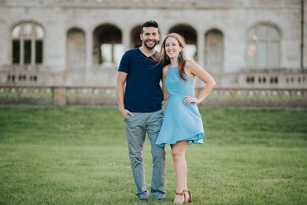 Jenna and Nikko - Newport, RI - 6.23.17