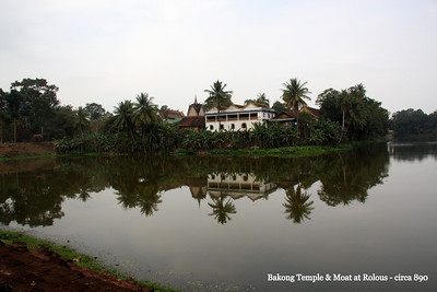 Bakong Temple and Moat