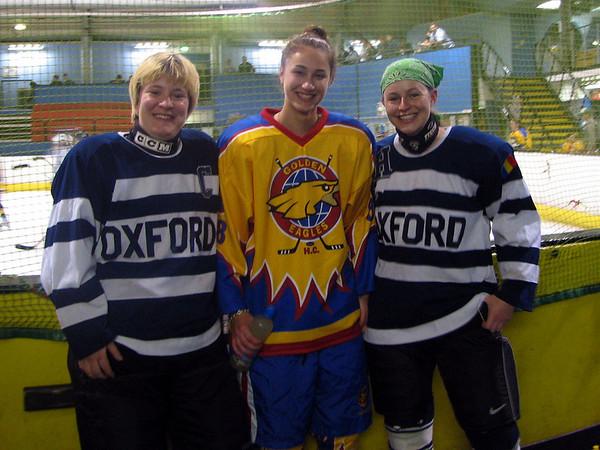 Girls vs Oxford Coed Team