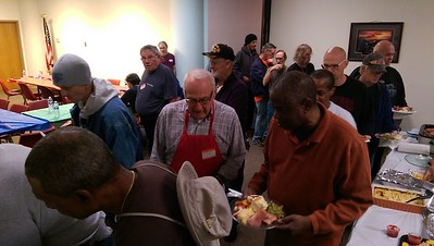 2013-11-10 -  Tuesday Men's Bible Study Veterans Outreach at the VOA