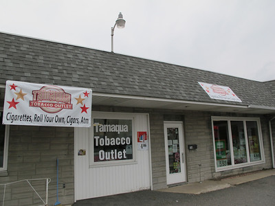 Outside of Tamaqua Tobacco Outlet, Pine and Mauch Chunk St, Tamaqua (9-26-2012)