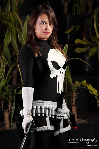 Lady Punisher (Mia Ballistic)