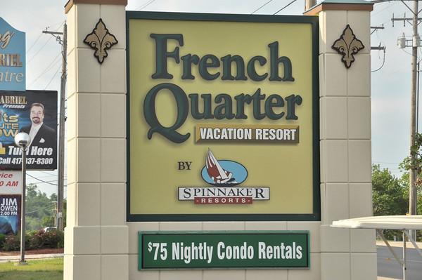 Spinnaker's French Quarter Resort, Branson MO May 2014
