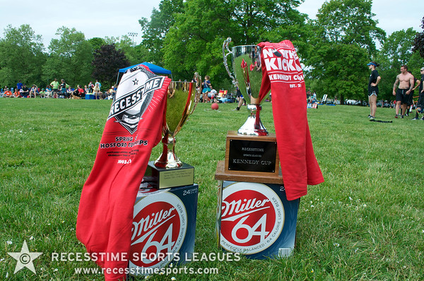 Summer Monday Kickball Teams/Action 2012