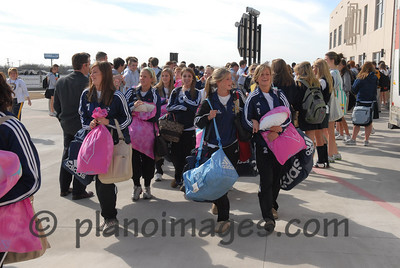Prestonwood Lady Lions Soccer Send Off - GOING TO  STATE!