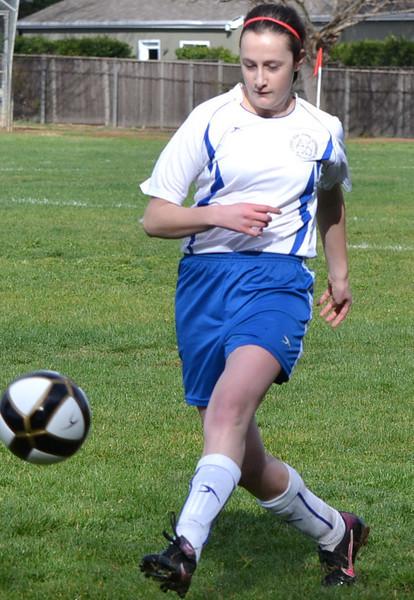 Waffles, U19 Spring Soccer 2013