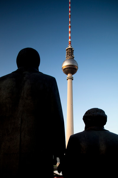 Marx and Engels statues, Marx-Engels forum, Berlin, Germany