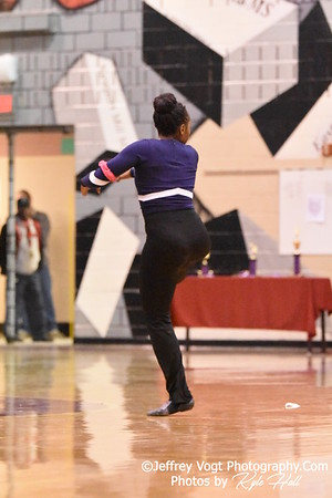 2-13-2016 Magruder HS Varsity Poms at Blair HS MCPS Championship, Photos by Jeffrey Vogt Photography with Kyle Hall