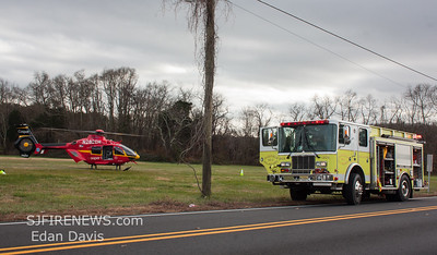 12/05/2017, MVC, Fairfield Twp. Cumberland County NJ, Gould Ave. and Buckshutem Rd