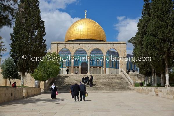 ISRAEL, Jerusalem, Old City. Temple Mount (3.2016)