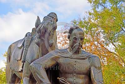 Pictures of Statues in Ukraine in Honor of Cossacks