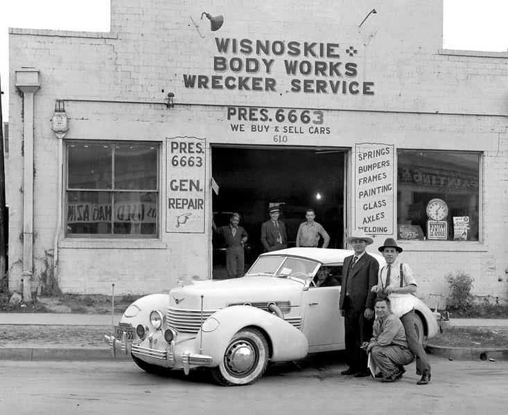 Wisnoskie Body Works 1938