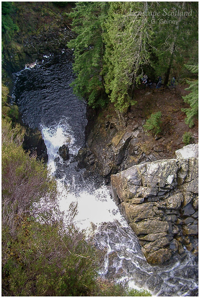 Plodda Falls, Tomich, near Cannich