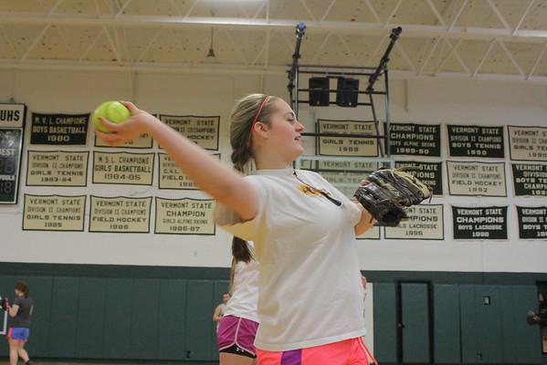 WUHS Softball Practice