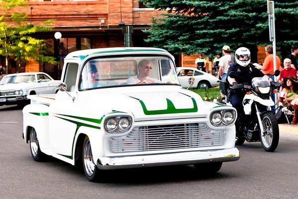 Garden City River Rod Run - Parade