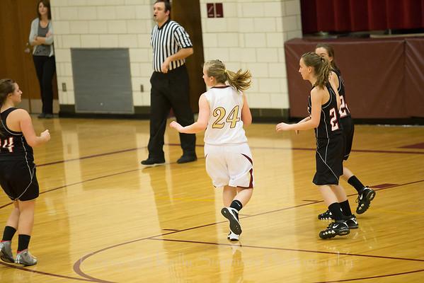 JV PV Girls Basketball vs Mathews 1-14-14