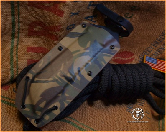 Relentless Knives Kydex Sheath TOPS M4X