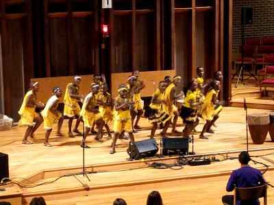 African Children's Choir at Mountain View 10/23/2016