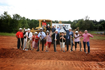 Groundbreaking Ceremony-Kearey Builders
