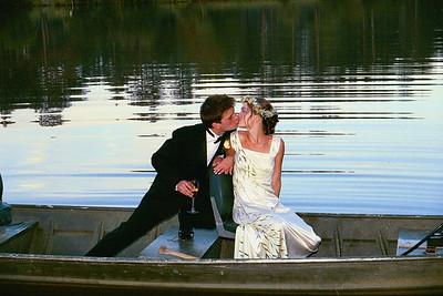 Pam and John Wedding