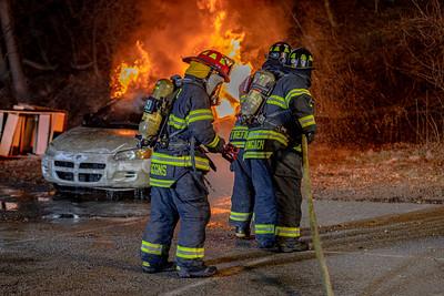 3-23-2021 Car Fire Drill