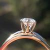 1.31tcw Round Brilliant Diamond Wedding Set, Est to be H, SI2      10