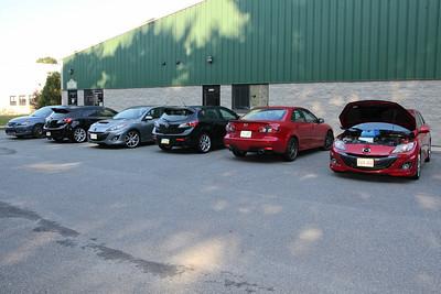 2011 Mazdaspeed MA/NH Dyno Run Oct 15