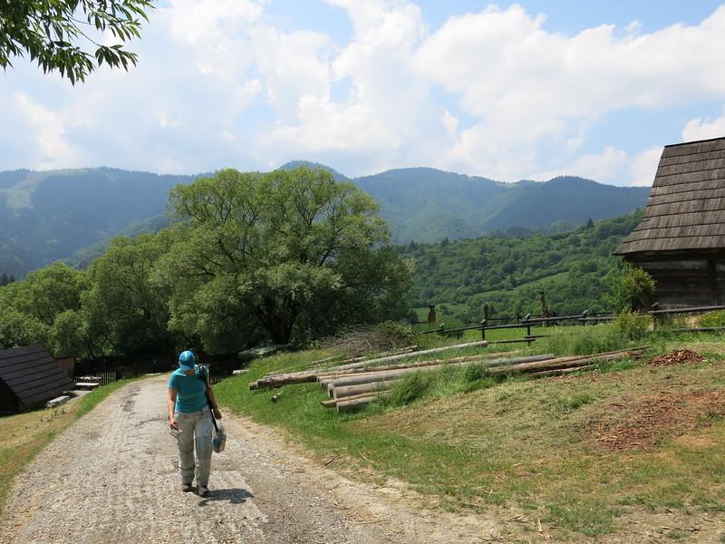 Visiting Vlkolinec