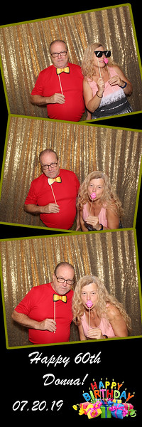 Donna's 6oth Birthday Surprise Photo Booth Pictures 07.20.2019