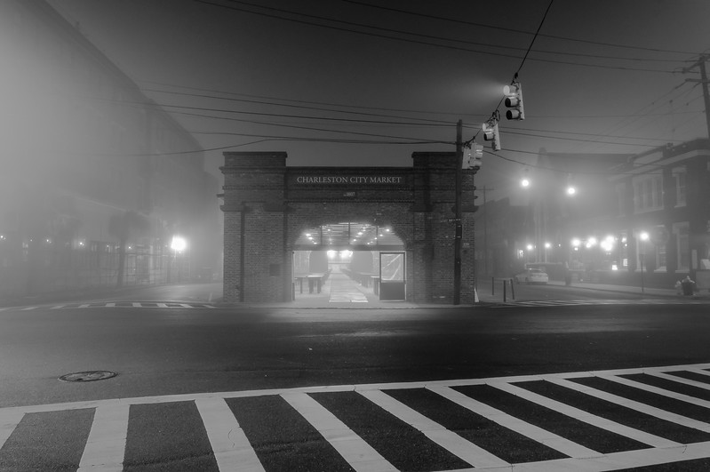 A Foggy Night in Charleston
