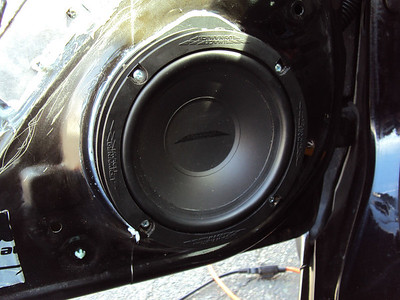2008 Honda Civic LX Coupe Front Door Speaker Installation - USA