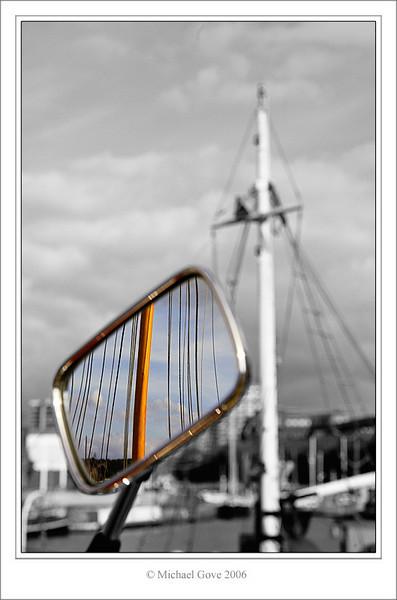 Harley mirror along the dockside (68209022).jpg