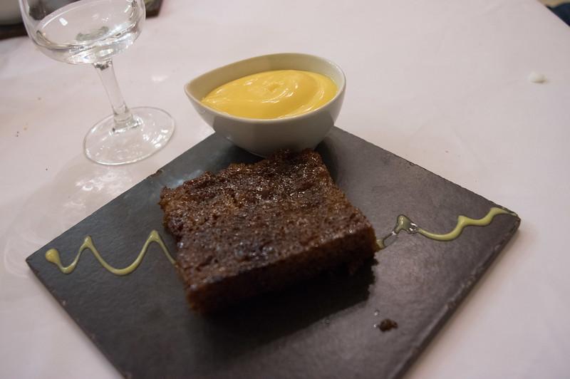 our new favorite dessert, malva pudding