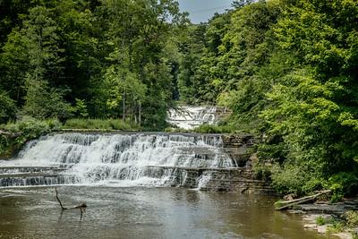 Waterfalls of WNY  - Wiscoy Falls