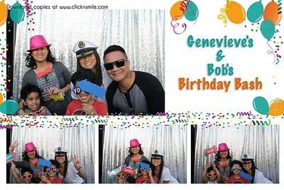 Genevieve's & Bob's Birthday