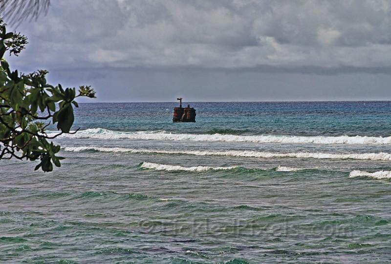 Boiler of Sunken Steamship SS Maitai