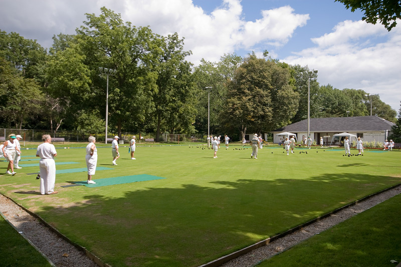 Sunday Afternoon, Etobicoke Lawn Bowling Club
