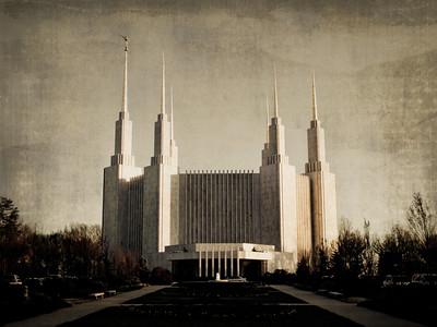 Washington D.C. LDS Temple Prints