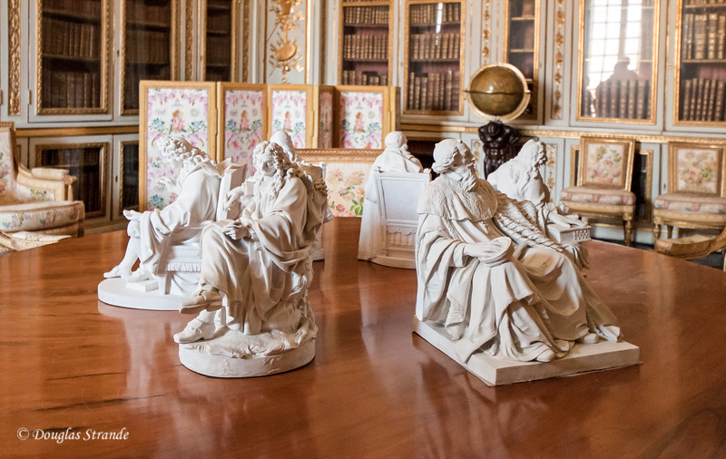 Inside the Chateu Versailles