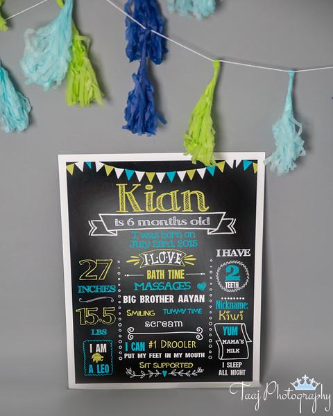 Kian Turns 1/2