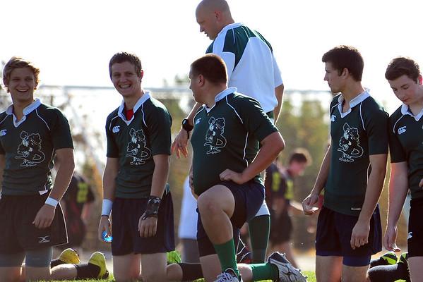 U19 Rugby, Gators at Mustangs, 3-10-12