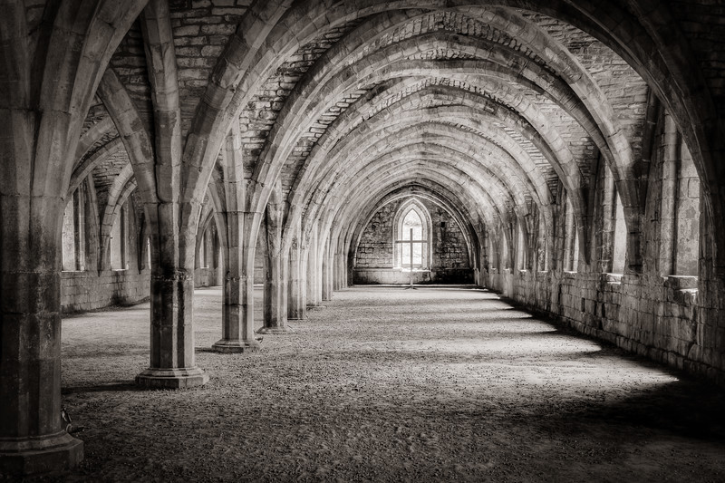 Within the Great Cloister